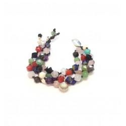 Bracelet  Papillon - Pierres Naturelles et Argent 925