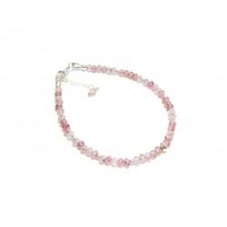 Bracelet Quartz - Pierres Fines et Argent 925