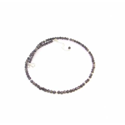 Collier  Labradorite Noire