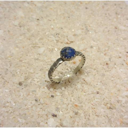 Bague Ethnique Lapis-Lazuli