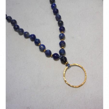 Sautoir Ethnique Lapis Lazuli