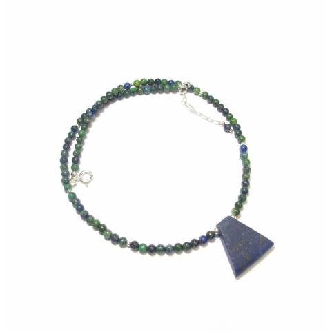Collier Azurite Malachite -