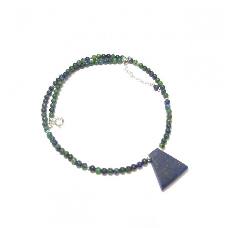 Collier Azurite Malachite -