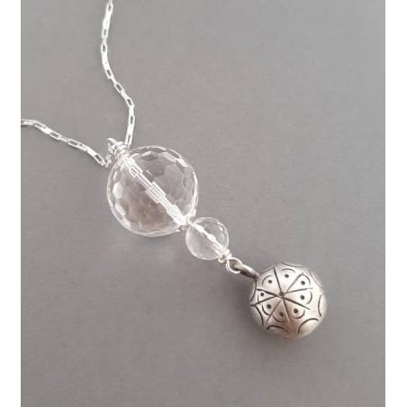 Bijoux de Grossesse Argent et  Cristal de Roche