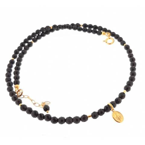 Collier Madone Onyx