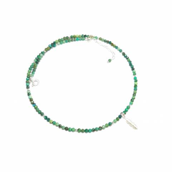 Collier Turquoise Verte -...