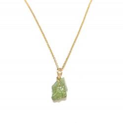 Collier Grenat Vert