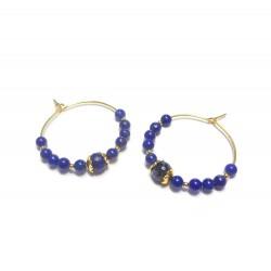 Créoles  Lapis-Lazuli