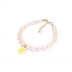 Bracelet Quartz Rose Chakra...